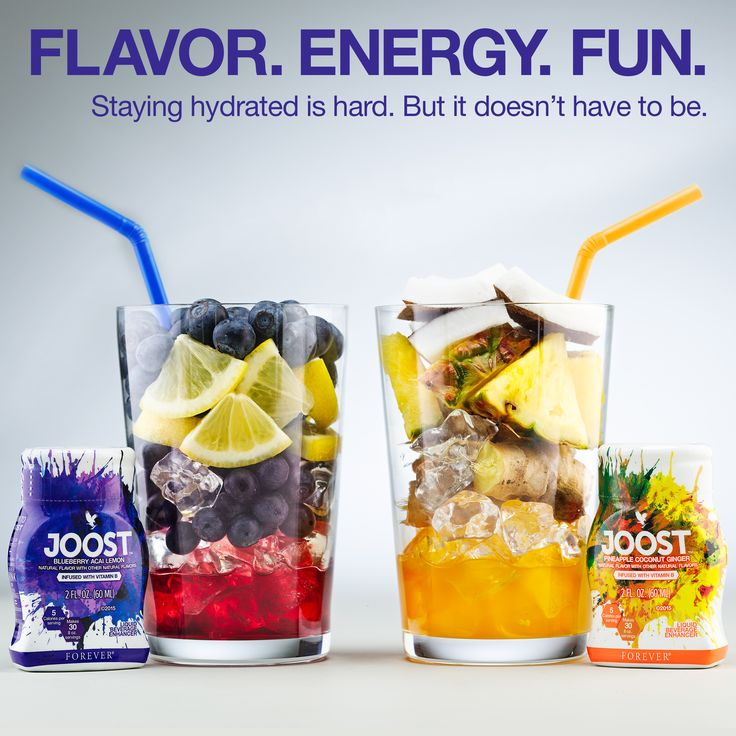 Stay hydrated and add some flavor to your Aloe Vera Gel with Forever JOOST!