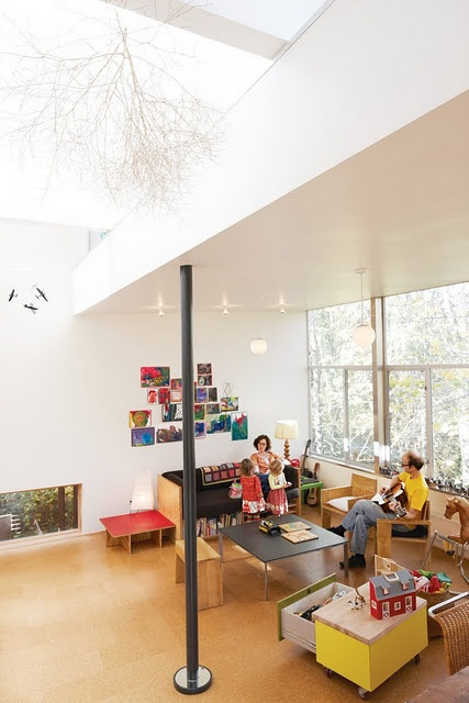 cool playroom / play area