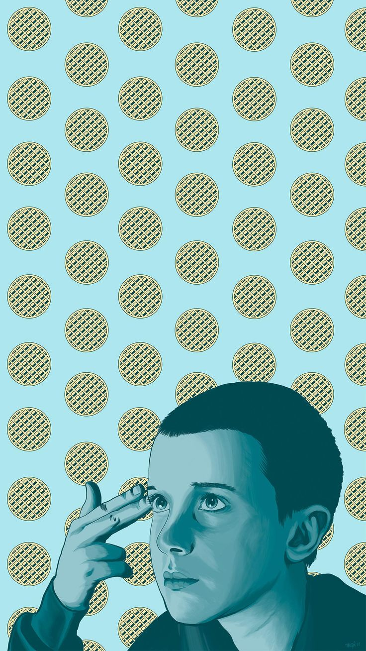 L || Eleven phone wallpaper || Stranger Things