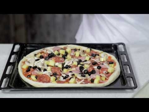 Reteta - aluat de pizza rapid si Pizza Romana | Bucataras TV - YouTube