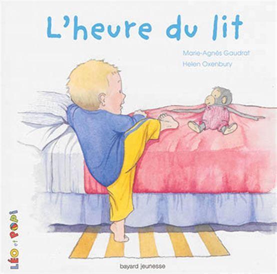Il est l'heure pour Léo d'aller se coucher. Mais il cherche Popi car lui aussi doit aller au lit. Une nouvelle aventure pour Léo et son doudou Popi qui permet d'apprivoiser les premières fois de la vie.