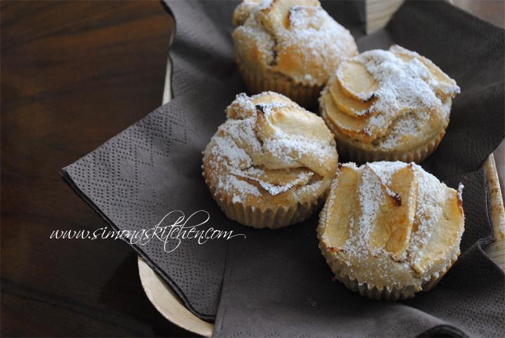 Muffins alla Mela e Cannella