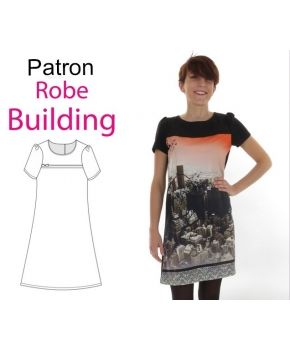 "Patron robe ""Building"""