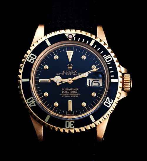Rolex ref: 1680/8 meters first 'nipple dial' in yellow gold - A watch that would make my life complete, if ever there was such a thing!