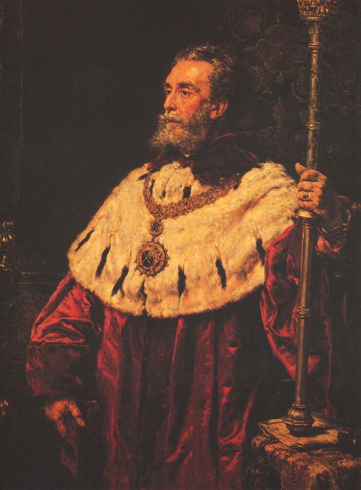 Portrait of Stanislaw Tarnowski - Jan Matejko