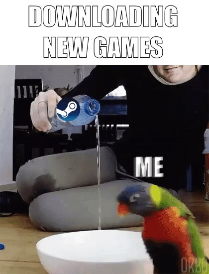 [/r/dank_meme] When a new game comes out !