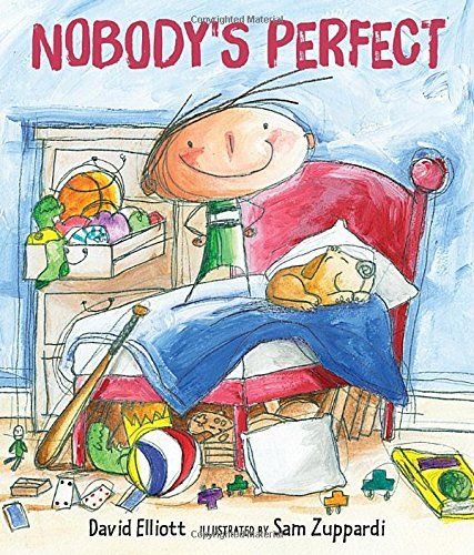 This is a fun picture book about a boy who realizes that no one is perfect. He's sitting in time out. He let his puppy on the bed with him when his mom said no. That's why he is in time out. He starts off mad, thinking about how everyone else has problems. His sister is too loud. His mom is stubborn. Even his friend is a show off.Cameron H., age 7, New Mexico Mensa