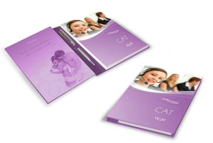 """Cadreno """"CAT"""" Cliente Ellegance"""