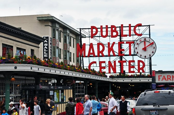 Pike Place Market. The reason I plan to move to Seattle one day...