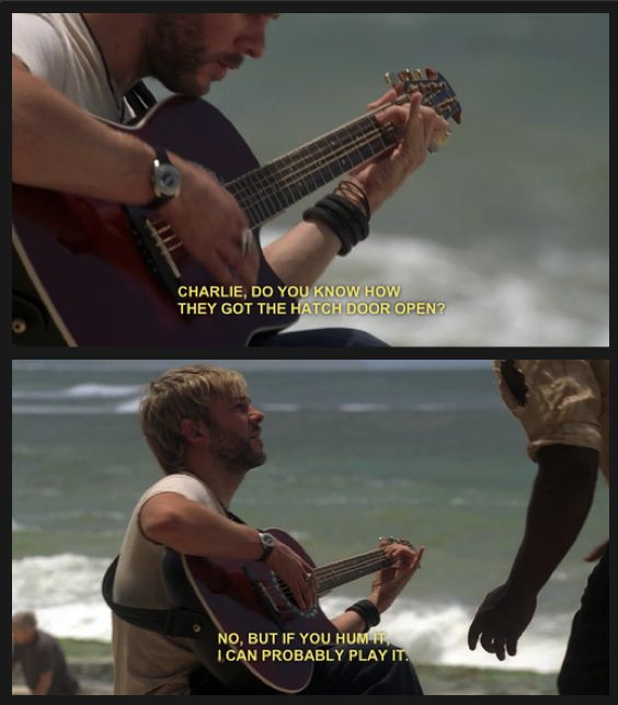 Haha :) #LOST Again, another favorite character who died.
