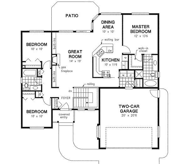 67 best house plans images on pinterest house floor for Garage ad nancy