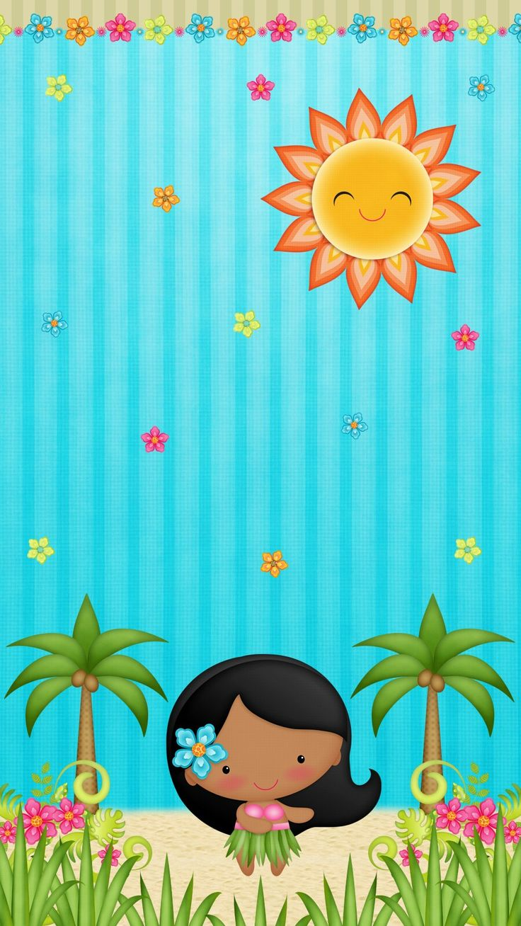 Girl Wallpaper For Iphone 4 Hawaii Aloha Wallpaper Iphone Cute Walls By Me♡ In