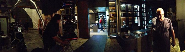 "Andrew Bikichky on Twitter: ""PI Office set opened up 180° view Ep803 #Castle http://t.co/1XFYTh3Zjb"""