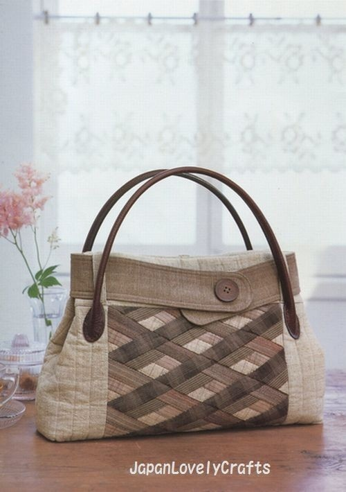Bags Made of Beige Brown Black & Gray (link to Japanese book)