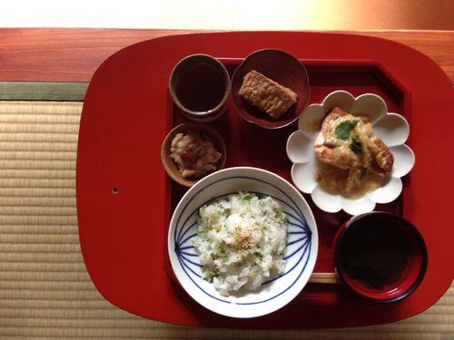 KYOTO JAPAN WASYOKU  一汁三菜(ichi jyu san sai)