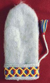 Ravelry: Vante från Lovikka pattern by Norrbottens läns hemslöjdsförening and Hemslöjdskonsulenterna i Norrbotten