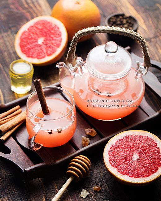 Грейпфрутовый чай - Life tastes great!