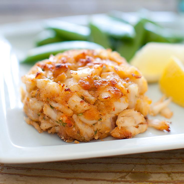 Our Maryland Crab Cakes are broiled in the oven and are prepared with the optimum amount of cracker crumbs.