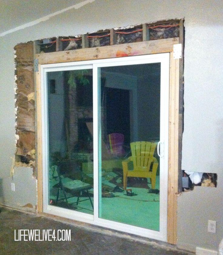 Diy Installing Sliding Glass Patio Doors Patio Door Installation Patio Doors Sliding Patio Doors