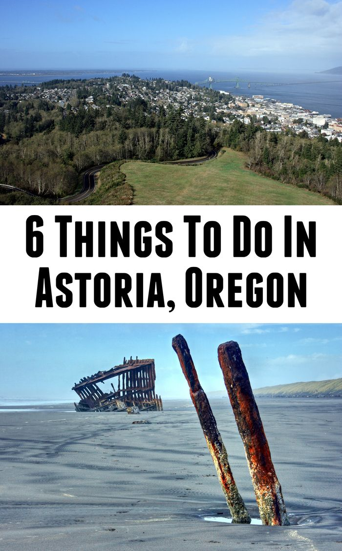 The top things to do in Astoria, Oregon. Click for the list or pin for later!