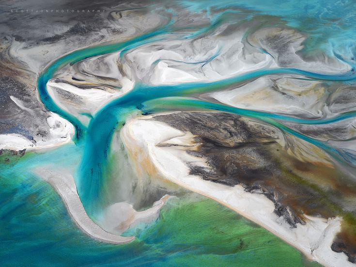 Reach - The beautiful Heritage listed area of Shark Bay. This image was taken from 1500ft with the rear doors removed from a Cessna 210.