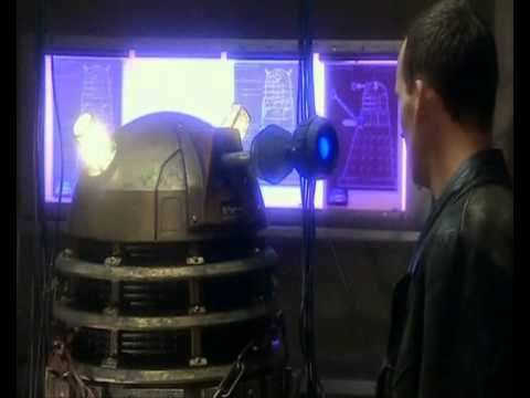 The Ninth Doctor's Epic Scene from S1E6 Doctor Who - Dalek