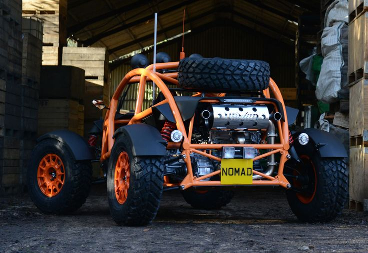 More suspension of reality with another Ariel production - Nomad.