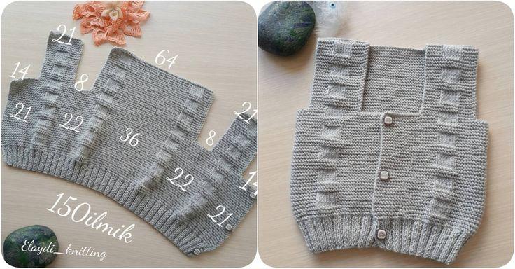3 - 6 aylık bebek yeleği yapılışı ile karşınızdayız. Yeleğin ilmek sayılarını ve nasıl yapıldığının resimlerini sizler için sitemizden paylaştık.