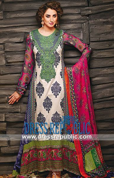 Arzo Pakistani Lawn Collection 2014 By Ajwa Textile  Shop Online Arzo Pakistani Lawn Collection 2014 By Ajwa Textile in Plano, Texas, USA. Call Houston (713) 893 5252. by www.dressrepublic.com
