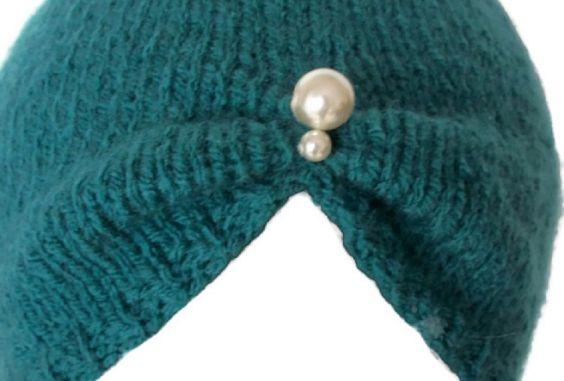 Turban Hat 1930s Vintage Style