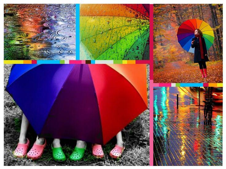 Zile ploioase si culoare