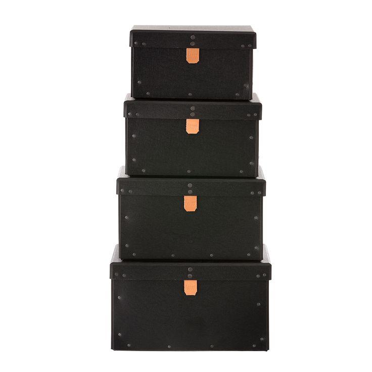 Set+of+4+Boxes,+Ferm+Living