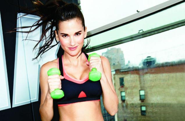 Woensdag workout: doe de dumbbell