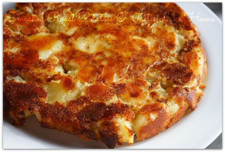 Smashed Roasted Potatoes | Food & Drink | Pinterest