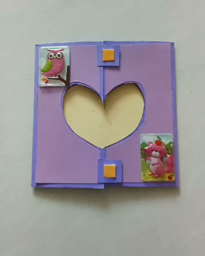 Heart shape shutter card Tengahnya bisa diisi foto ataupun ucapan Ukuran  besar dan warna kartu bisa 096180d529