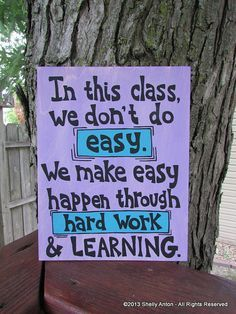 Classroom Decor Teacher Gift Teacher by PromotingSuccess on Etsy, $19.95
