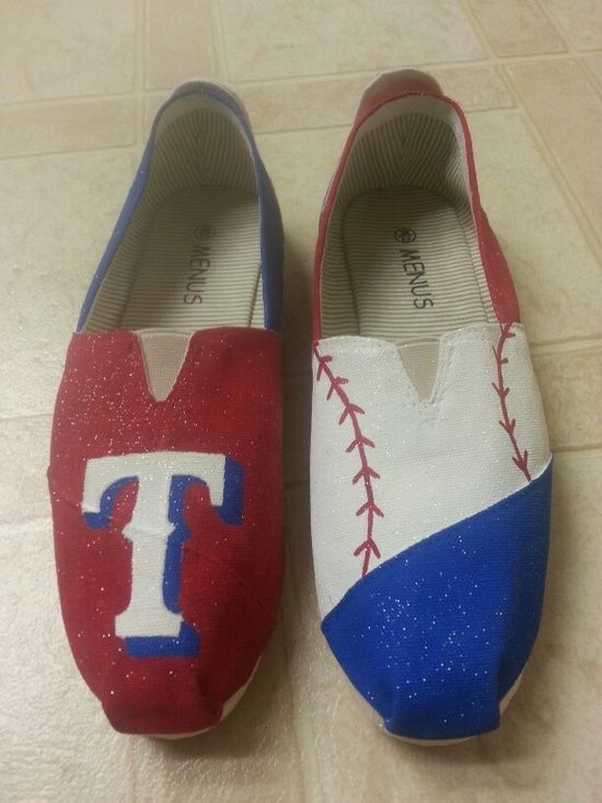 texas rangers painted toms <3