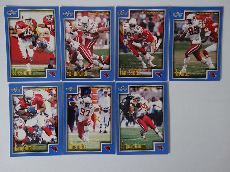1999 Score Series 1 Arizona Cardinals Team Set of 7 Football Cards #ArizonaCardinals