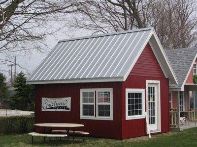 Amazing Galvalume Plus Standing Seam Metal Roof, Tiny House