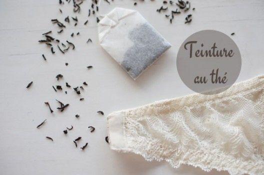 DIY / La teinture au thé sur http://www.thetrendygirl.net
