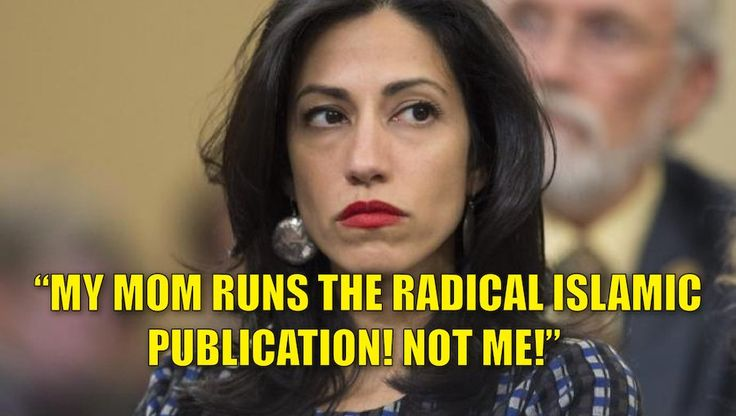 The Washington Post broke the story that Hillary Clinton's top aide Huma Abedin was formerly an assistant editor for a Radical Islamic Publication. The Clinton campaign denied that Huma Abedin had a formal role at the magazine. …and the Clinton campaign lied. Breitbart reported that the Journal of Muslim Minority Affairs is an Abedin family business and she worked there for OVER ADOZEN YEARS. Huma was an assistant editor there between 1996 and 2008. Her brother, Hassan, 45, is a book-review…