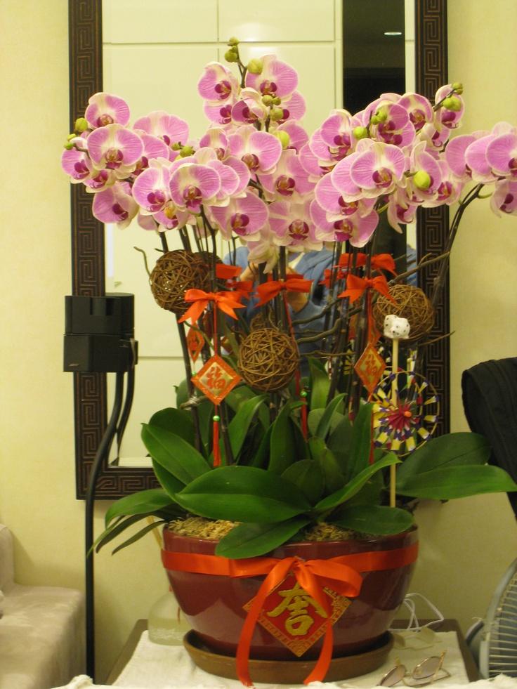 17 best images about cny on pinterest floral for Flower arrangements decorations home