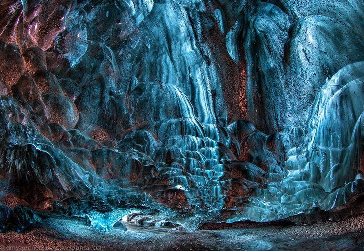 Исландия. Ледяные пещеры - Путешествуем вместе