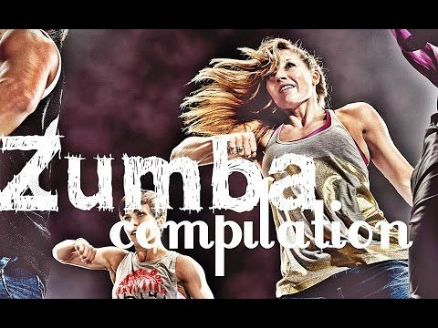 Zumba Dance Aerobic Workout - 40 Minutes Zumba Compilation Class - Party Yourself Into Shape - YouTube