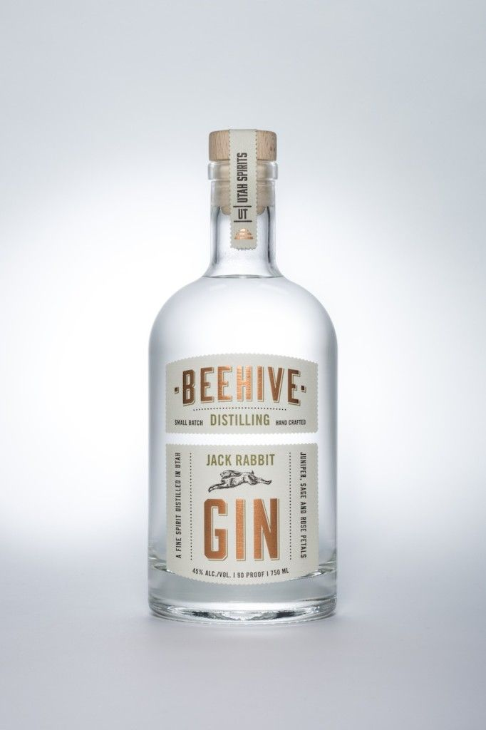 The new offering from Utah's Beehive Distilling, Jack Rabbit Gin.