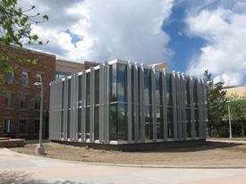 Study Cube @ CSU.  I know I hated it at first but spending all that time in there during finals week changed my mind!