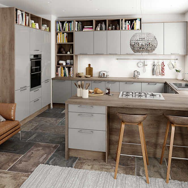1000+ Ideas About Grey Kitchens On Pinterest
