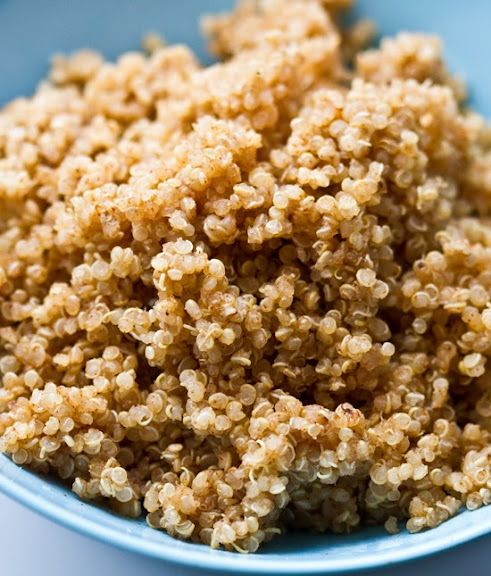 Outstanding basic Quinoa (*say: keen-wha*) how-to & info; no popup windows!!! Always soak/rinse 15-30 mins before cooking!