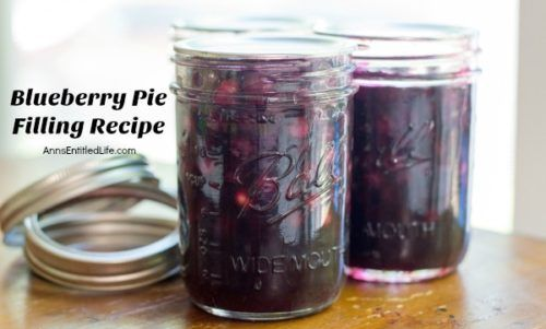 Make your own blueberry pie filling with this tasty, easy to make blueberry pie filling recipe. These simple step by step instructions will make your blueberry canning a breeze! Make blueberries pies, blueberry crumbles, bars and more using a delicious homemade blueberry pie filling that you made yo