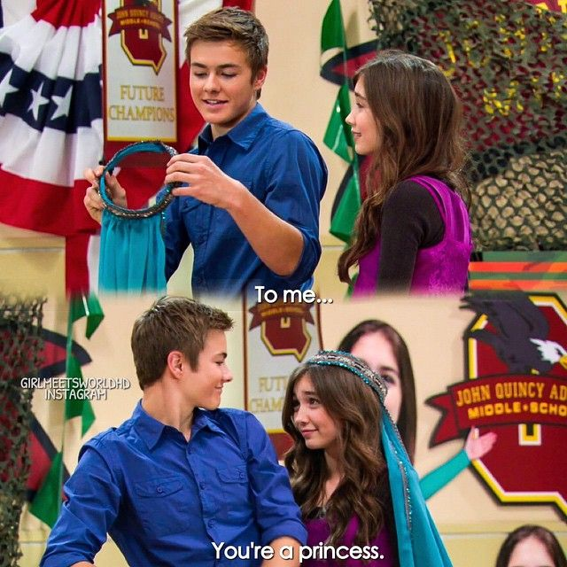 BEST EPISODE,SCENE,LINE,AND I HOPE THEY WILL BE THE NEXT CORY AND TOPANGA!!! COMMENT BELOW IF U AGREE WITH ME!!!!!!
